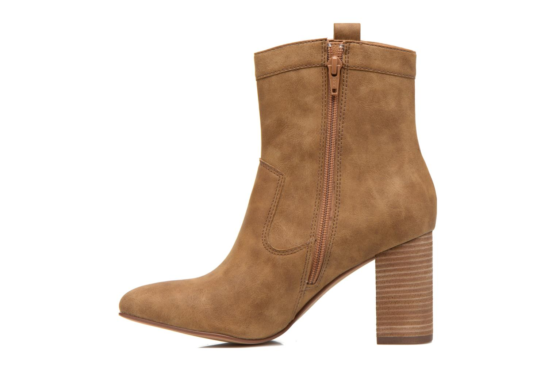 Bottines et boots Esprit Flora Bootie Marron vue face