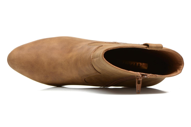 Stiefeletten & Boots Esprit Flora Bootie braun ansicht von links