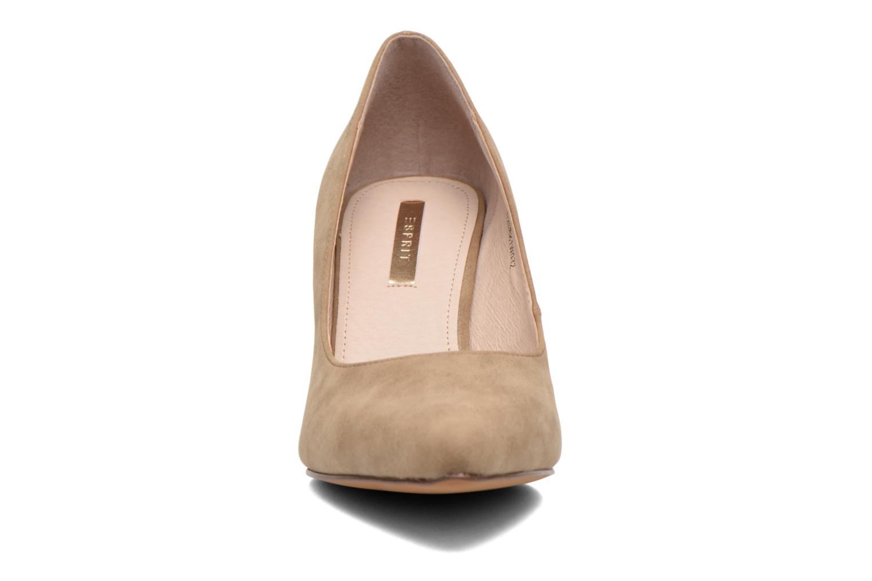 Escarpins Esprit Rossy Pump Marron vue portées chaussures