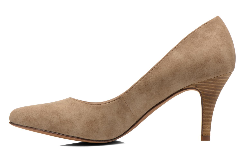 High heels Esprit Rossy Pump Brown front view