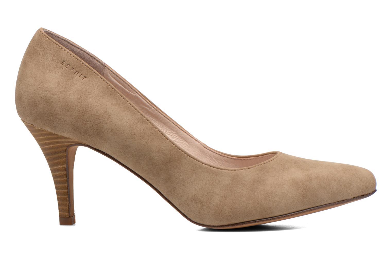 High heels Esprit Rossy Pump Brown back view