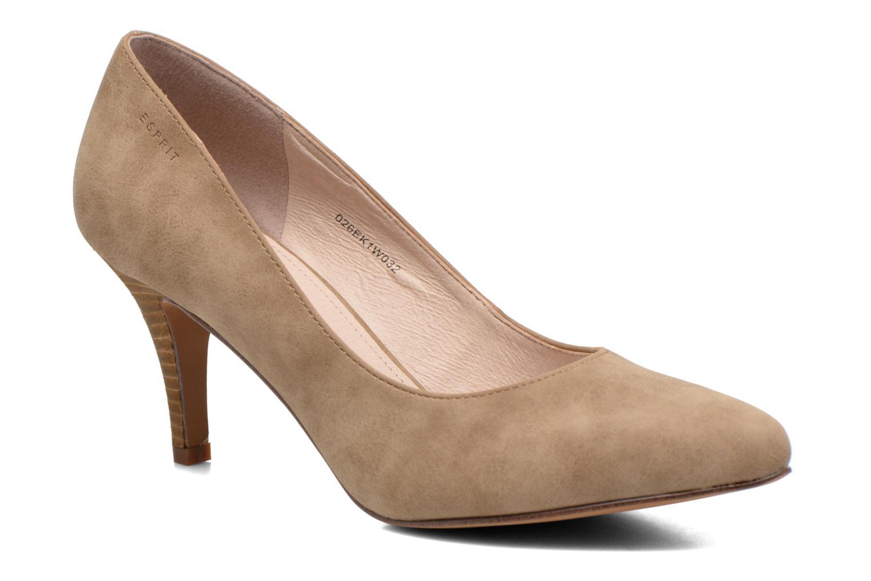 High heels Esprit Rossy Pump Brown detailed view/ Pair view