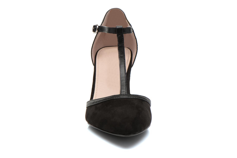 Escarpins Esprit Rossy T-Strap Noir vue portées chaussures