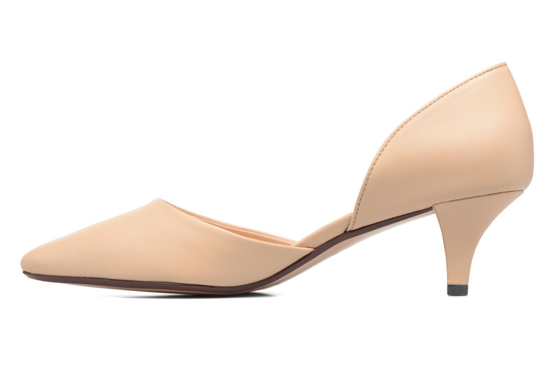 Zapatos de tacón Esprit Michelle OS Beige vista de frente