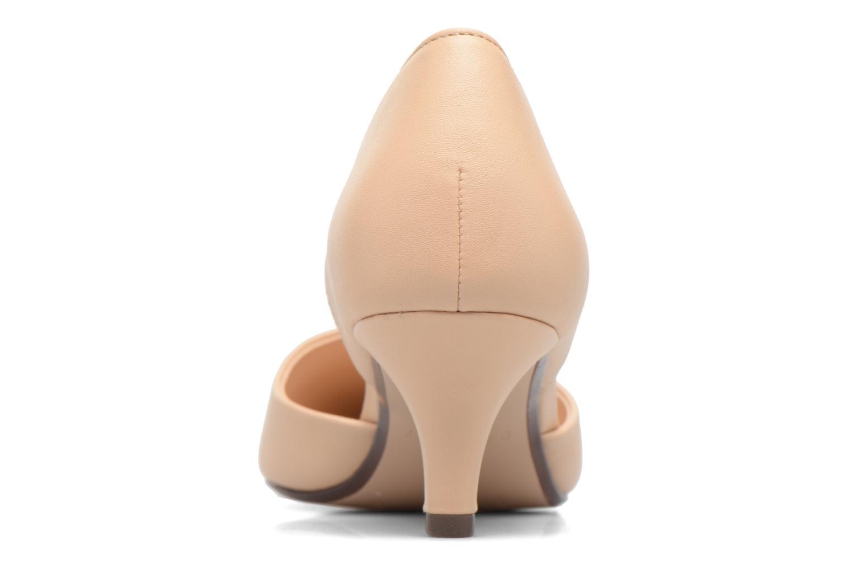 Zapatos de tacón Esprit Michelle OS Beige vista lateral derecha