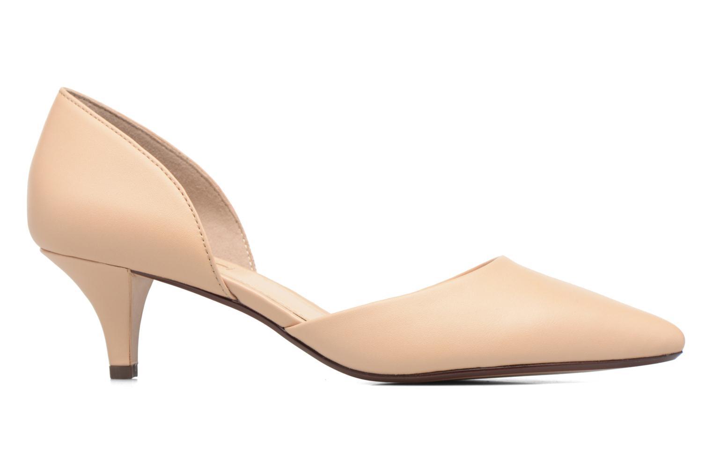 High heels Esprit Michelle OS Beige back view