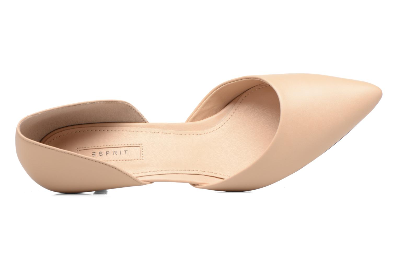 Zapatos de tacón Esprit Michelle OS Beige vista lateral izquierda