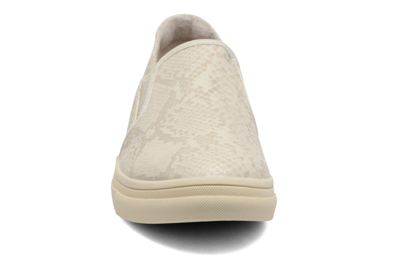 Baskets Esprit Yendis Slip on 009 Beige vue portées chaussures