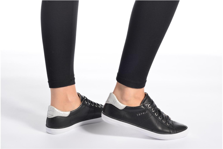 Sneakers Esprit Miana Lace Up Marrone immagine dal basso