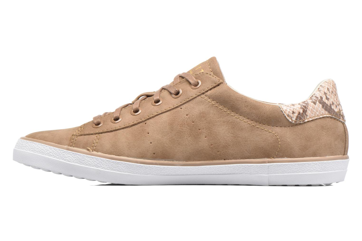 Sneakers Esprit Miana Lace Up Brun se forfra