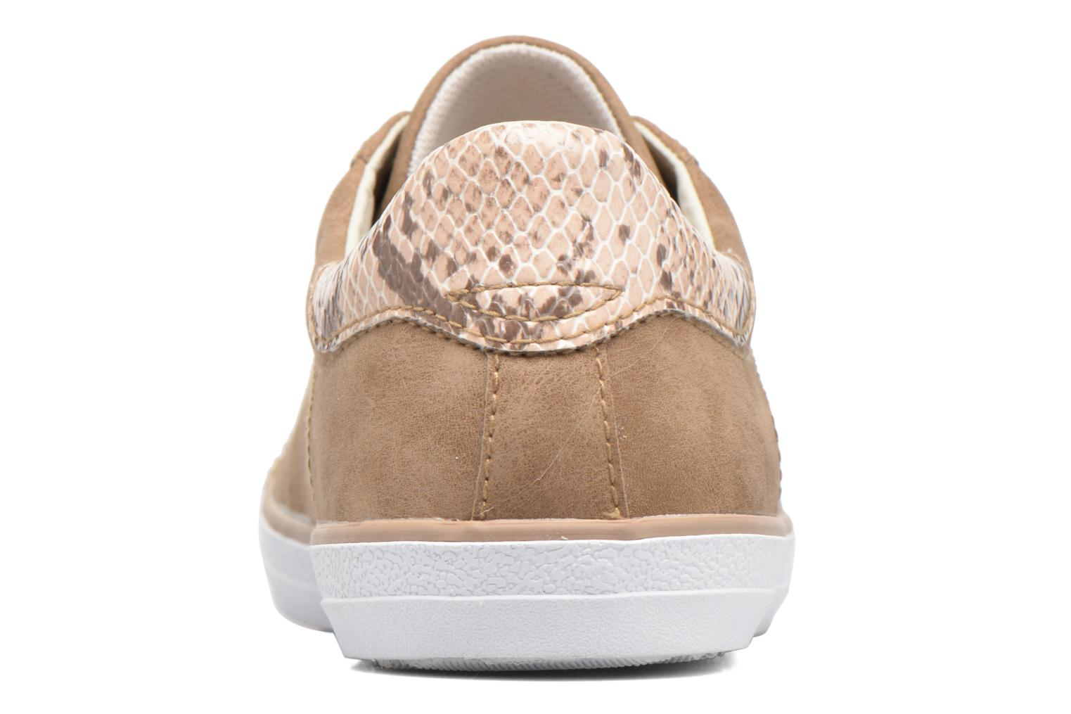 Trainers Esprit Miana Lace Up Brown view from the right