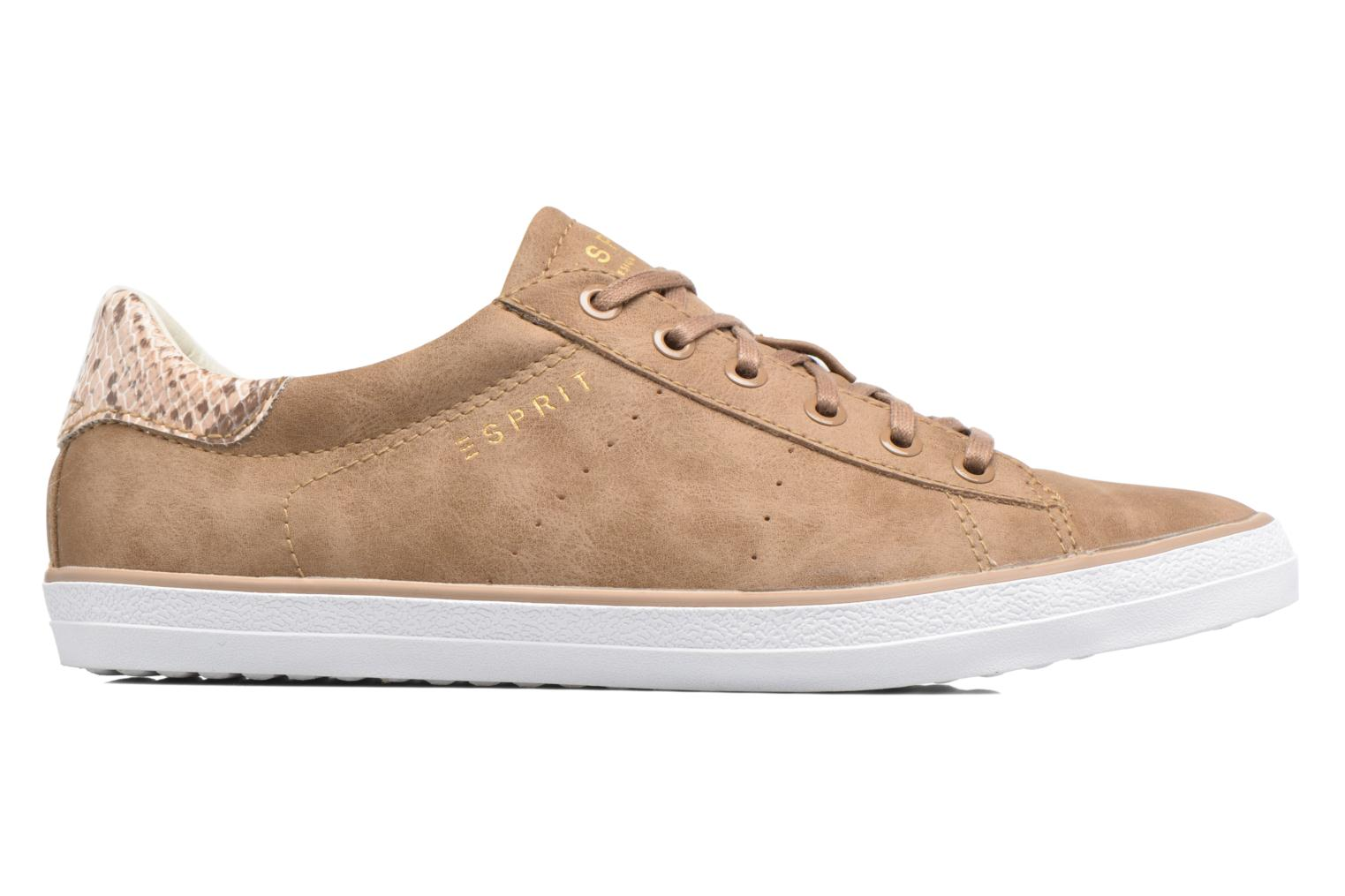 Trainers Esprit Miana Lace Up Brown back view