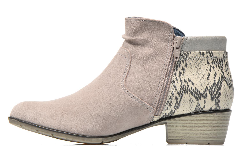 Bottines et boots Jana shoes Popy Gris vue face