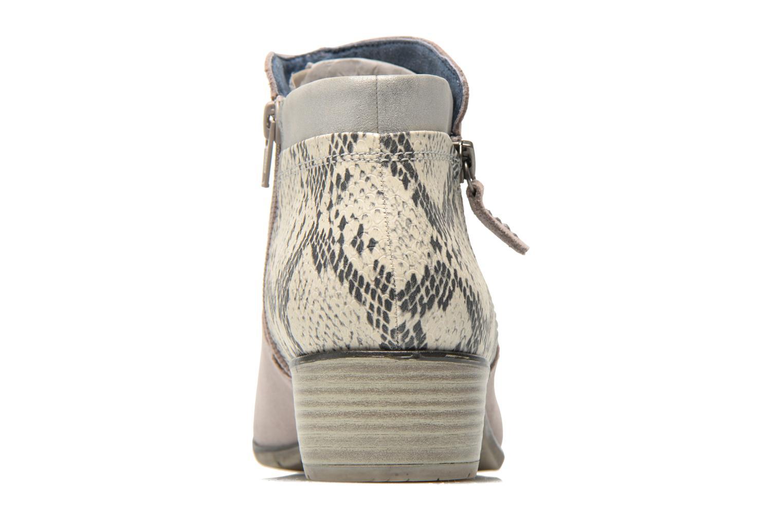 Bottines et boots Jana shoes Popy Gris vue droite