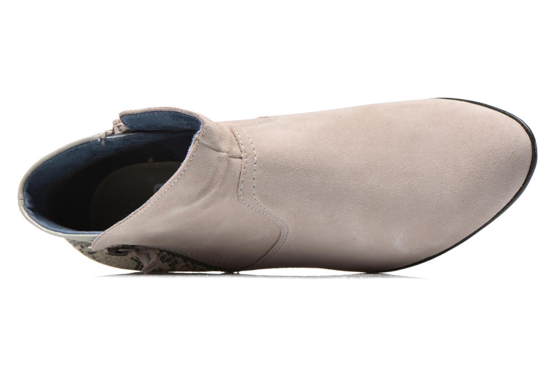 Bottines et boots Jana shoes Popy Gris vue gauche
