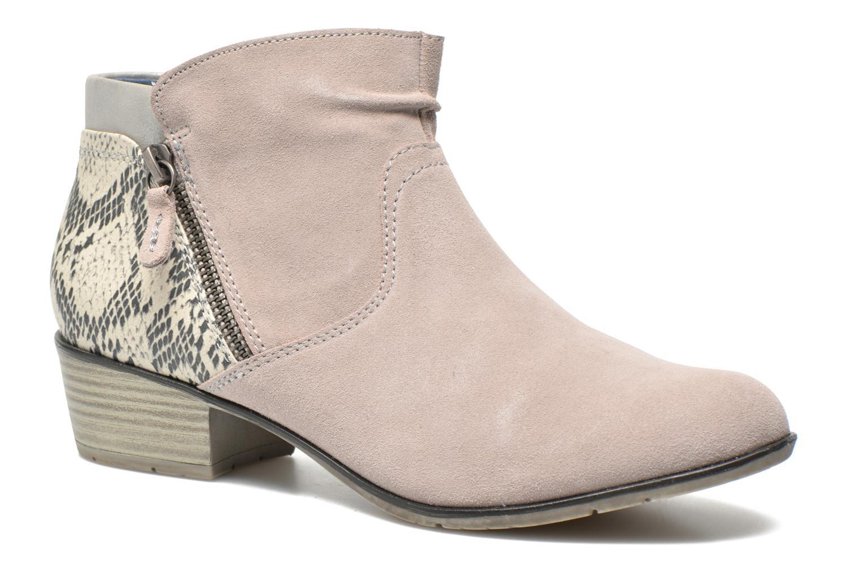 Bottines et boots Jana shoes Popy Gris vue détail/paire