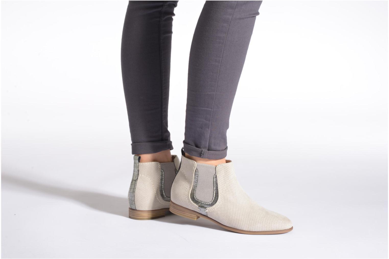 Bottines et boots Jana shoes Reva Beige vue bas / vue portée sac