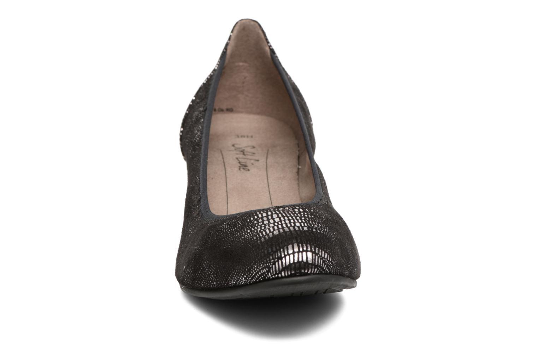 Pumps Jana shoes Danina schwarz schuhe getragen