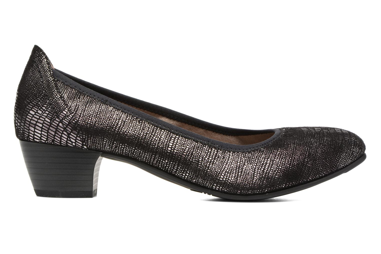 Pumps Jana shoes Danina Zwart achterkant