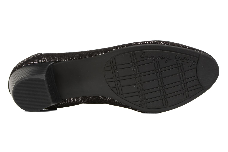 Escarpins Jana shoes Danina Noir vue haut