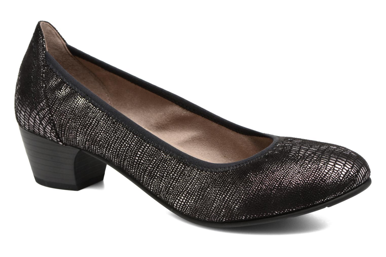 Escarpins Jana shoes Danina Noir vue détail/paire