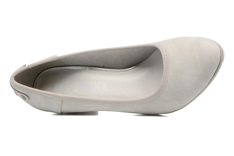Zapatos de tacón S.Oliver Nyelle Gris vista lateral izquierda