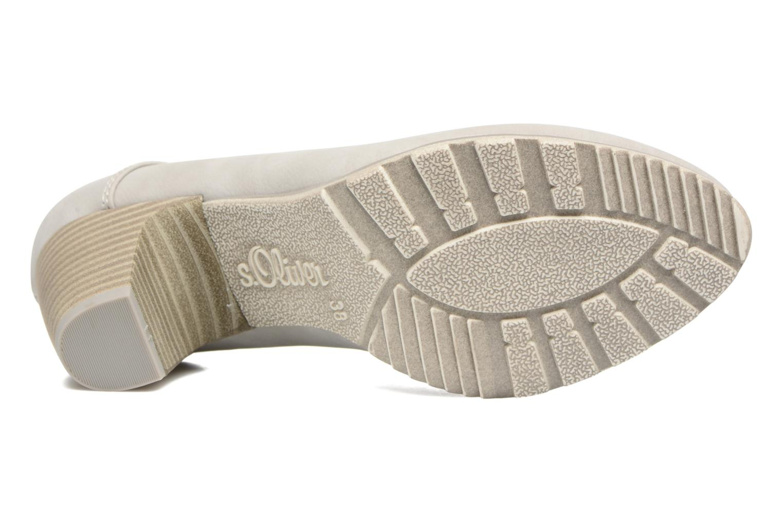 Zapatos de tacón S.Oliver Nyelle Gris vista de arriba