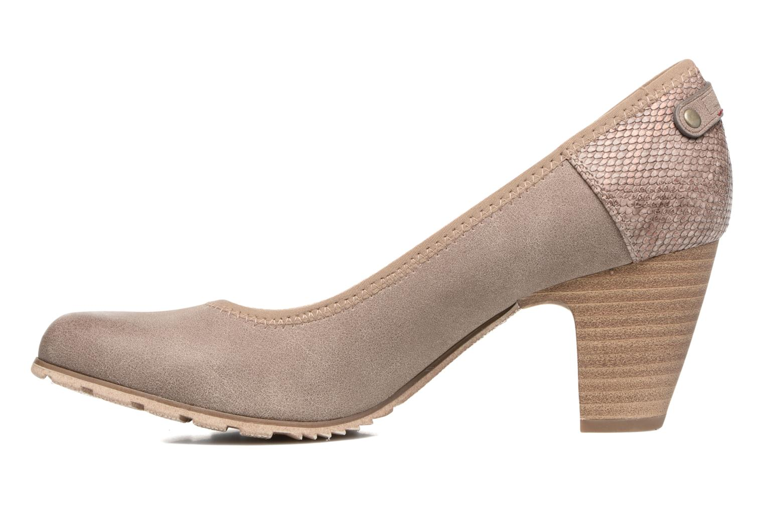 High heels S.Oliver Nyelle Brown front view