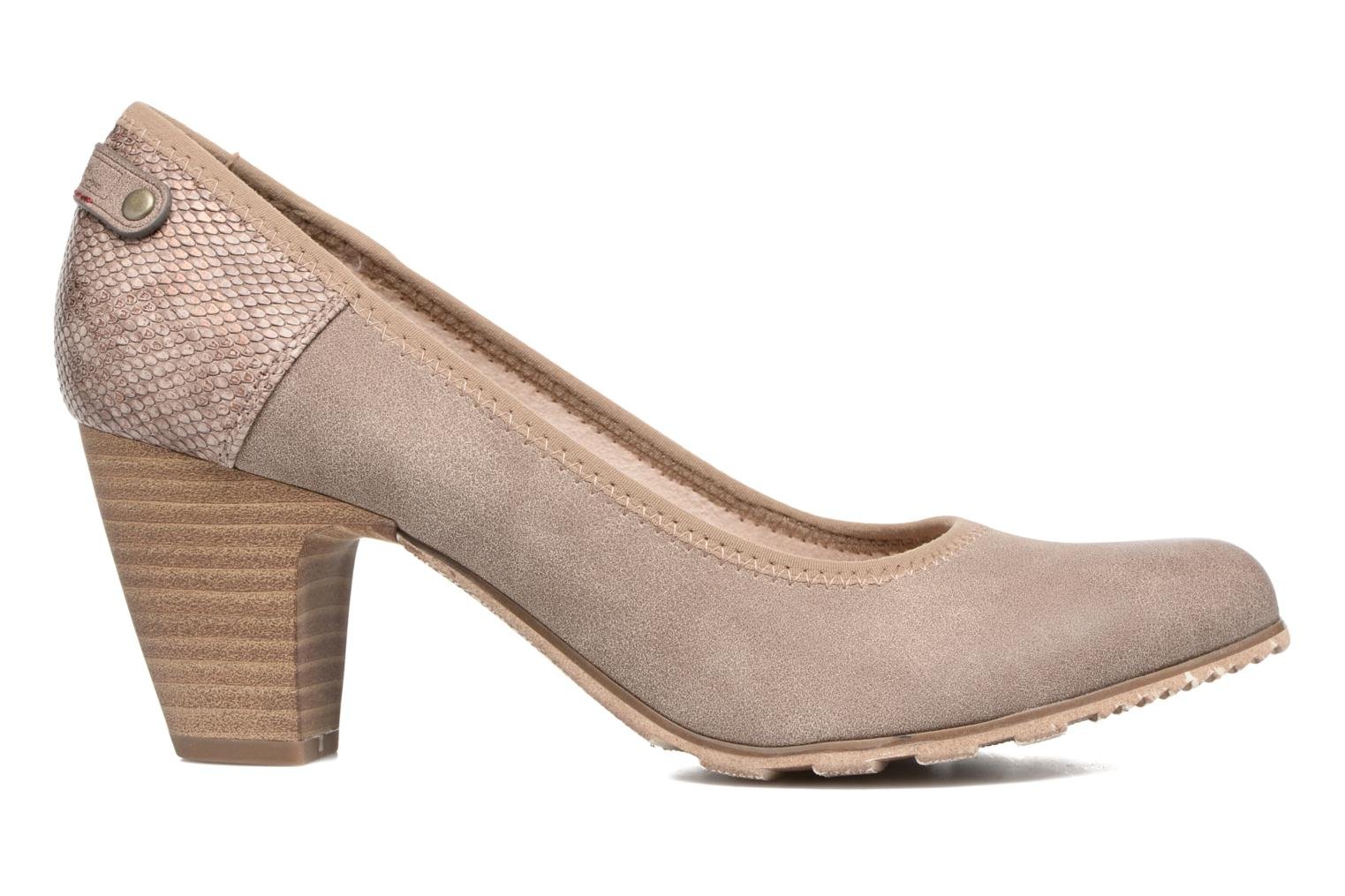 High heels S.Oliver Nyelle Brown back view