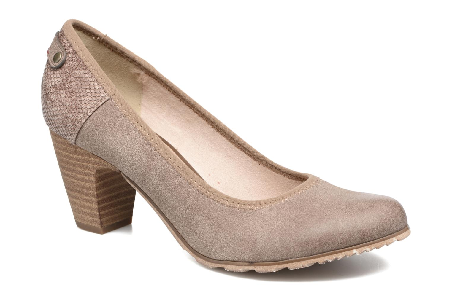 High heels S.Oliver Nyelle Brown detailed view/ Pair view