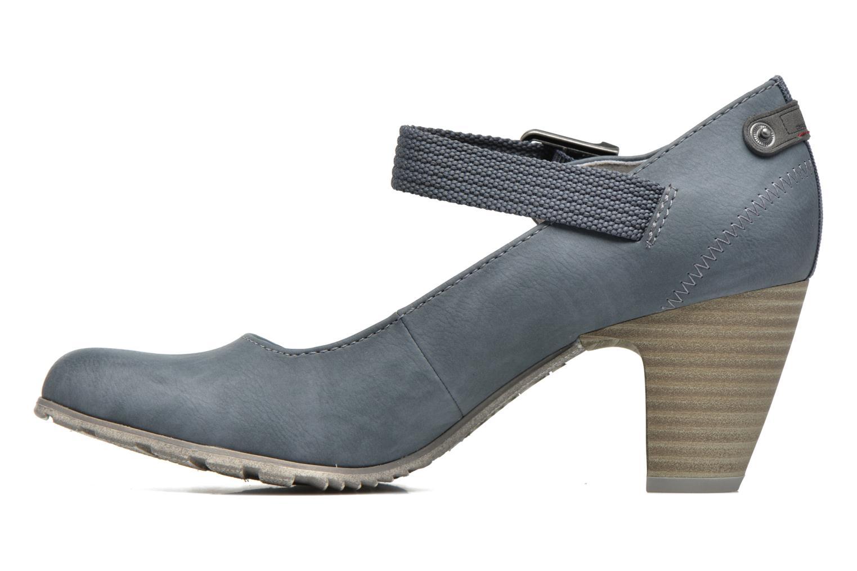 Zapatos de tacón S.Oliver Leby Azul vista de frente