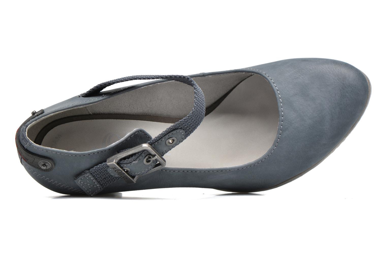 Zapatos de tacón S.Oliver Leby Azul vista lateral izquierda