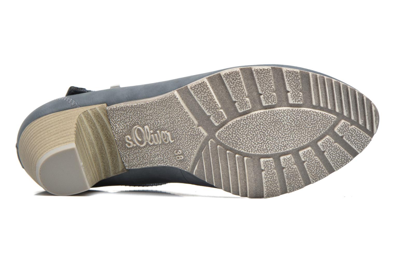 Zapatos de tacón S.Oliver Leby Azul vista de arriba
