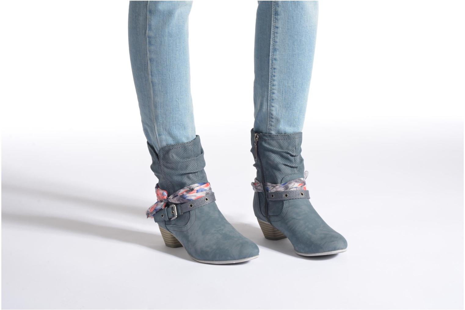 Ankle boots S.Oliver Lekiba Blue view from underneath / model view