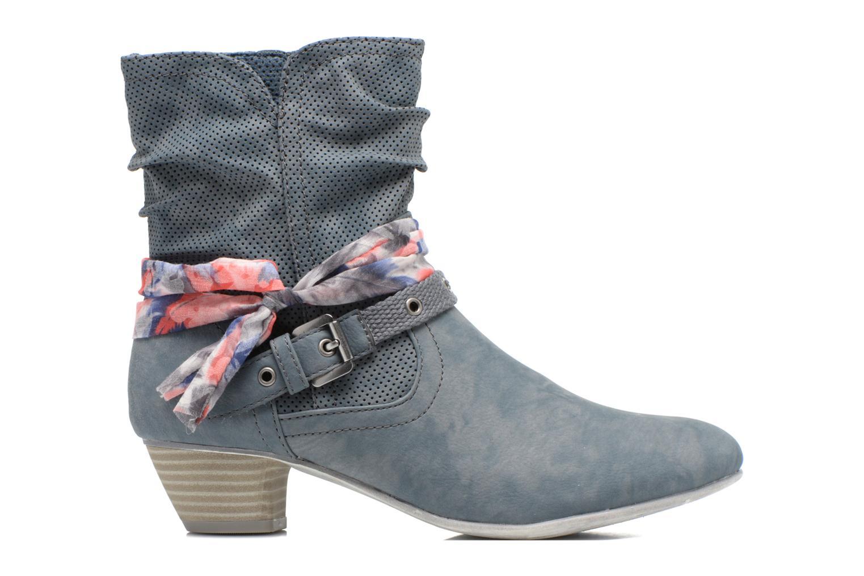 Ankle boots S.Oliver Lekiba Blue back view