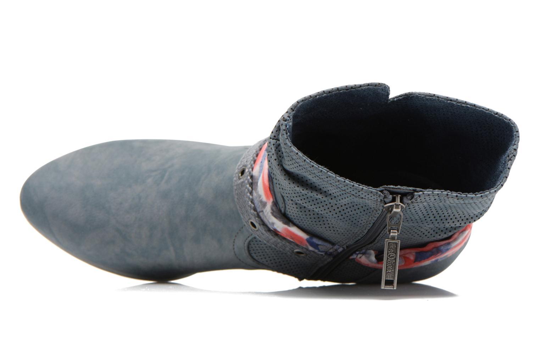 Boots en enkellaarsjes S.Oliver Lekiba Blauw links