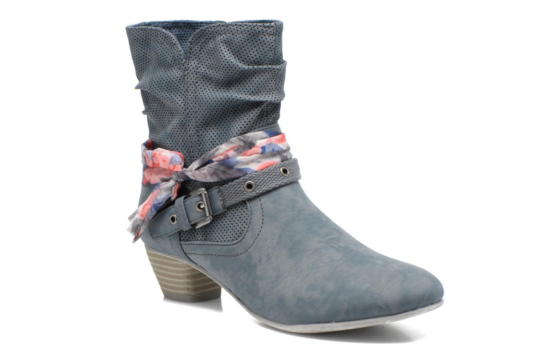 Boots en enkellaarsjes S.Oliver Lekiba Blauw detail
