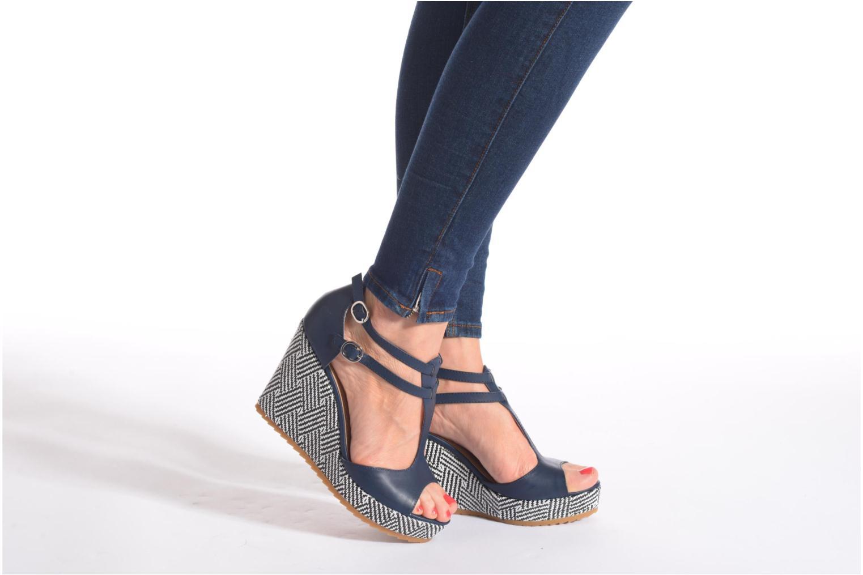 Sandales et nu-pieds S.Oliver Bomana Rose vue bas / vue portée sac