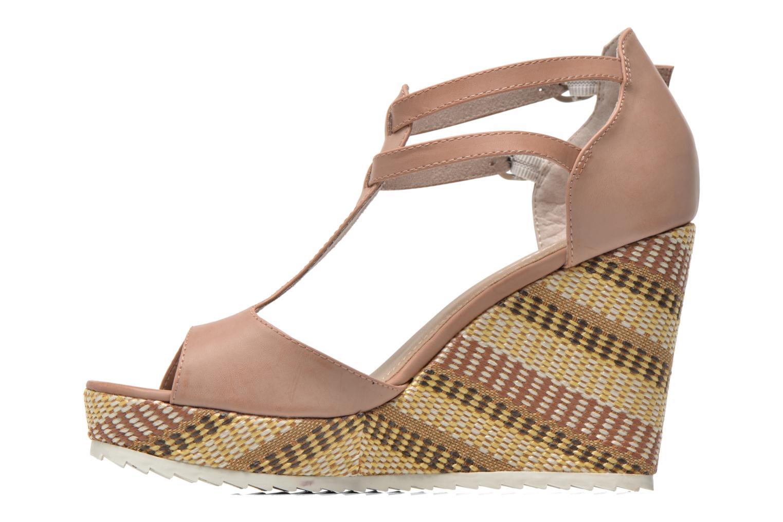 Sandales et nu-pieds S.Oliver Bomana Rose vue face