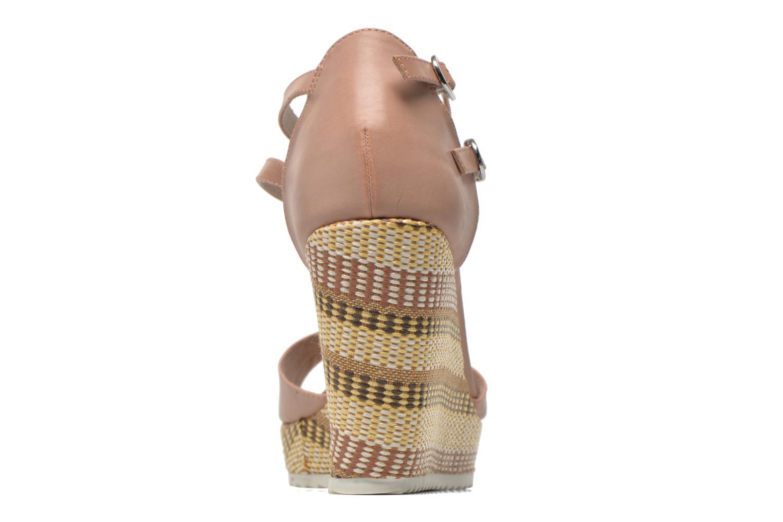 Sandales et nu-pieds S.Oliver Bomana Rose vue droite