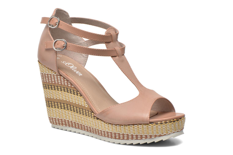 Sandaler S.Oliver Bomana Pink detaljeret billede af skoene