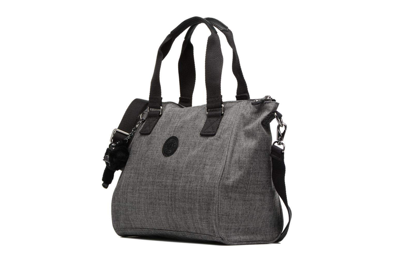 Handtaschen Kipling Amiel grau schuhe getragen