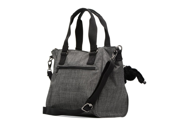 Handtaschen Kipling Amiel grau ansicht von rechts