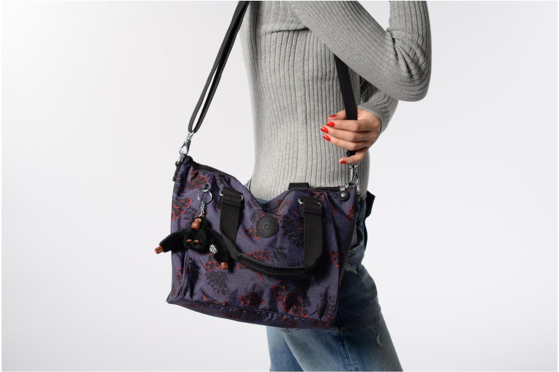 Handtaschen Kipling Amiel grau ansicht von oben