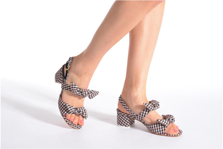 Sandales et nu-pieds Apologie Jena Multicolore vue bas / vue portée sac
