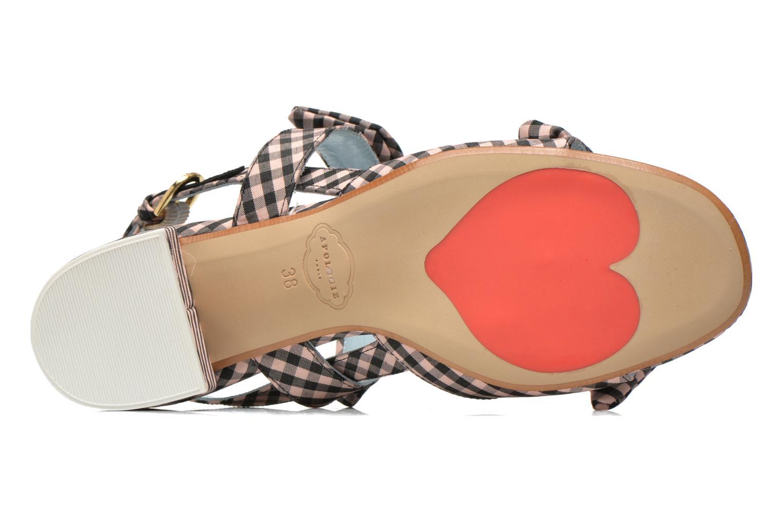 Sandales et nu-pieds Apologie Jena Multicolore vue haut