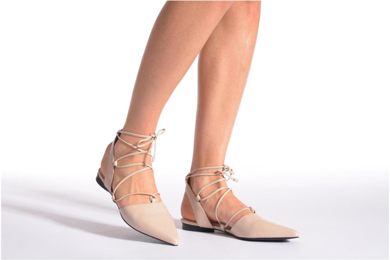 Ballerinas SENSO GORDON beige ansicht von unten / tasche getragen