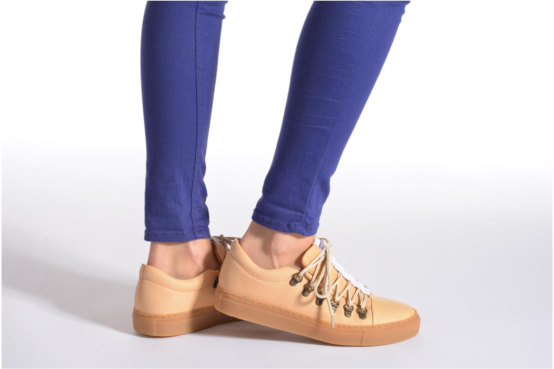 Chaussures à lacets Swear BRIAN 3 Beige vue bas / vue portée sac