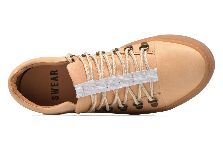Chaussures à lacets Swear BRIAN 3 Beige vue gauche