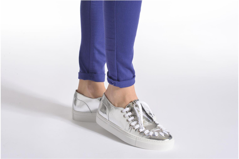 Chaussures à lacets Swear BLAKE 2 BIS Beige vue bas / vue portée sac